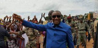 Alpha Conde President de la Guinée