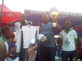 Finale du tournoi doté du trophée Bah lamine AEF
