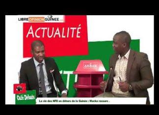 Macka Balde des NFD dans café débat