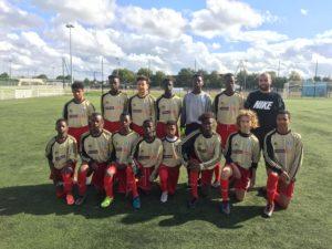 Balde Boubacar, Footbaleur guinéen du club CS BRETIGNY France