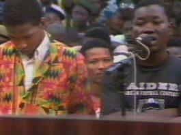 Matthias Leno au procès de gang en Guinée en 1985