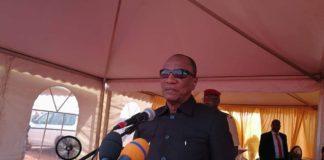 Alpha Condé President de la république de Guinée