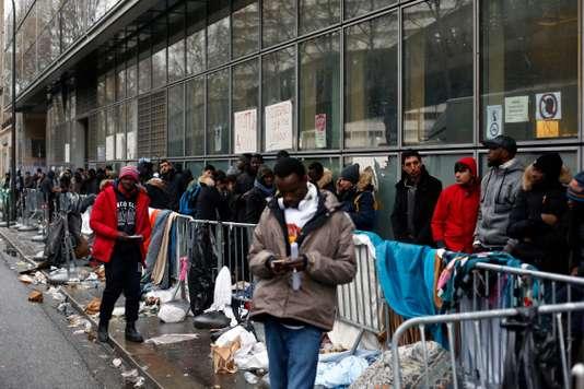 Demandeur d'asile en France