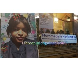 Mariama Kallo assassiné en France Montreuil