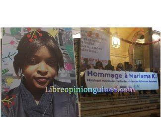 Mariama Kallo assassiné en France Montreuil