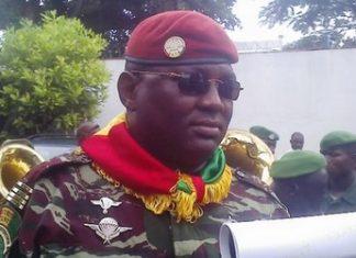 Commandant Sékou Resco Camara, ancien gouverneur de la ville de Conakry