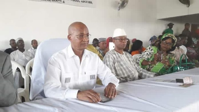 Cellou Dalein Diallo au siège de l'ufdg janvier 2018