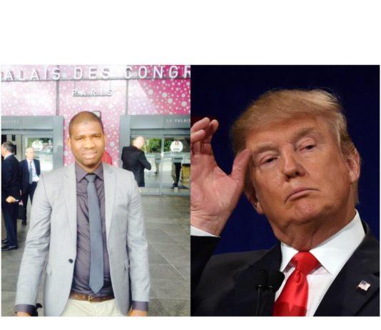 Macka Balde vice président des NFD et Donald Trump président des États-Unis d'Amérique