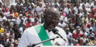George Weah President du Liberia