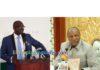 Sannou Kerfalla Cissé président de l'URTELGUI et Alpha Condé President de la république de Guinée