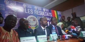 Proclamation des résultats partiels par la Ceni