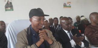 Cellou Dalein Diallo et Makanera Kaké au siège de l'ufdg