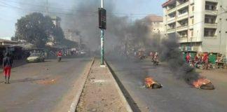 Manifestations des enseignants en Guinée