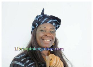 L'artiste Fatou Linsan Barry