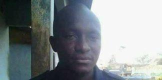 Gendarme Guinéen tué à Conakry