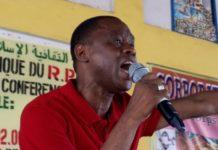 Sanoussy Bantama Sow, ministre guinéen des sports de la culture et du patrimoine historique