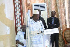 Mohamed Said Fofana Mediateur de la république