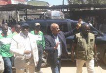 Cellou Dalein Diallo leader de l'UFG avec Fode Oussou Fofana