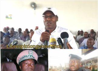 Ousmane Gaoual, général Ibrahima Balde et Ansoumane Camara Boffoé