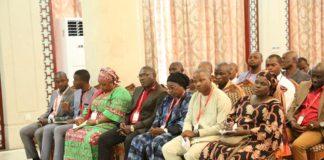 La société civile reçu à sékoutouréya