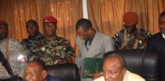 Lansana Kouyaté et Alpha Condé
