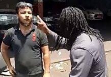 Elie Kamano menace un libanais à Conakry