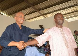 Aboubacar Akoumba Diallo et Cellou Dalein Diallo