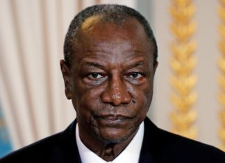 Alpha Conde président de la République de Guinée