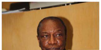 profeseur Alpha Condé président de la Guinée