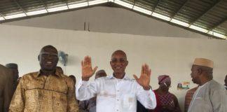 Cellou Dalein Diallo au siège l'ufdg