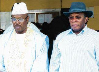 Dr Ousmane Kaba pades et Kassory Fofana premier ministre de Alpha Condé