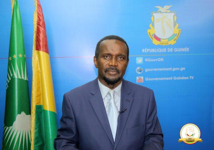 Aboubacar Sylla porte parole du gouvernement guinéen