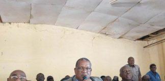 Des leaders syndicaux guinéens réunis à la bourse du travail cntg ustg