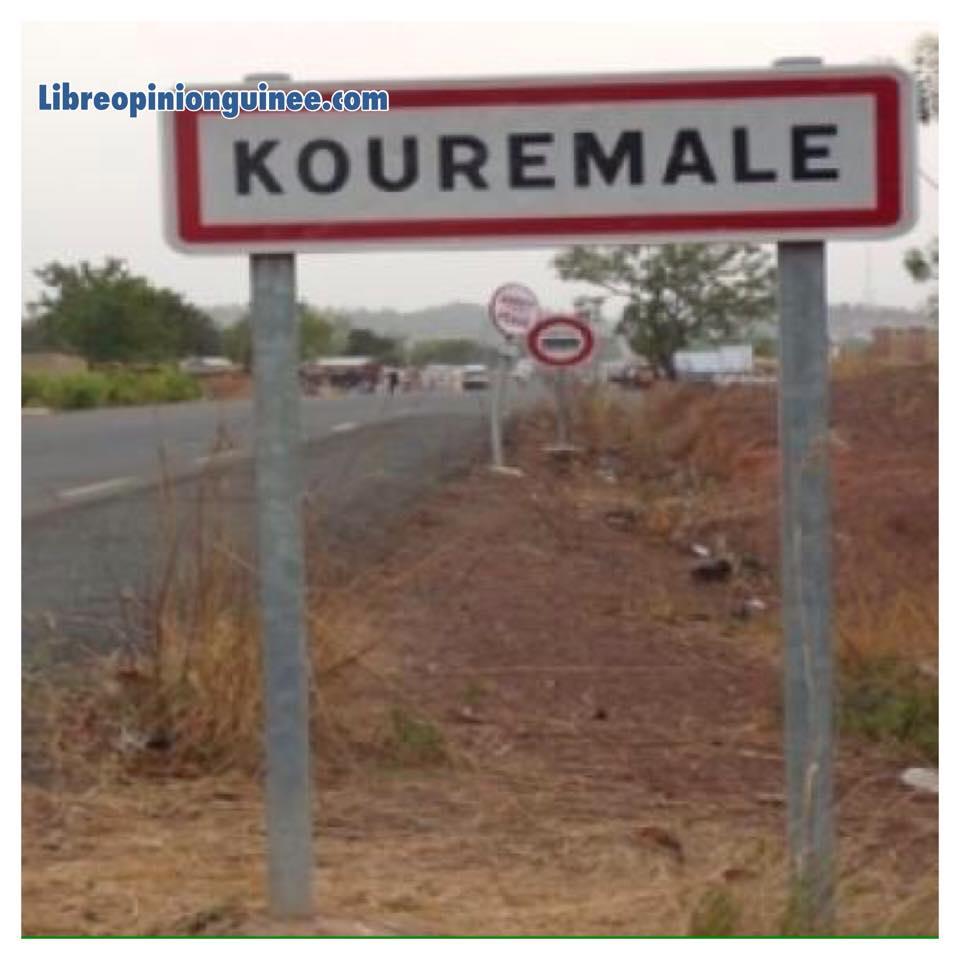 photo kouremale frontière guinée mali