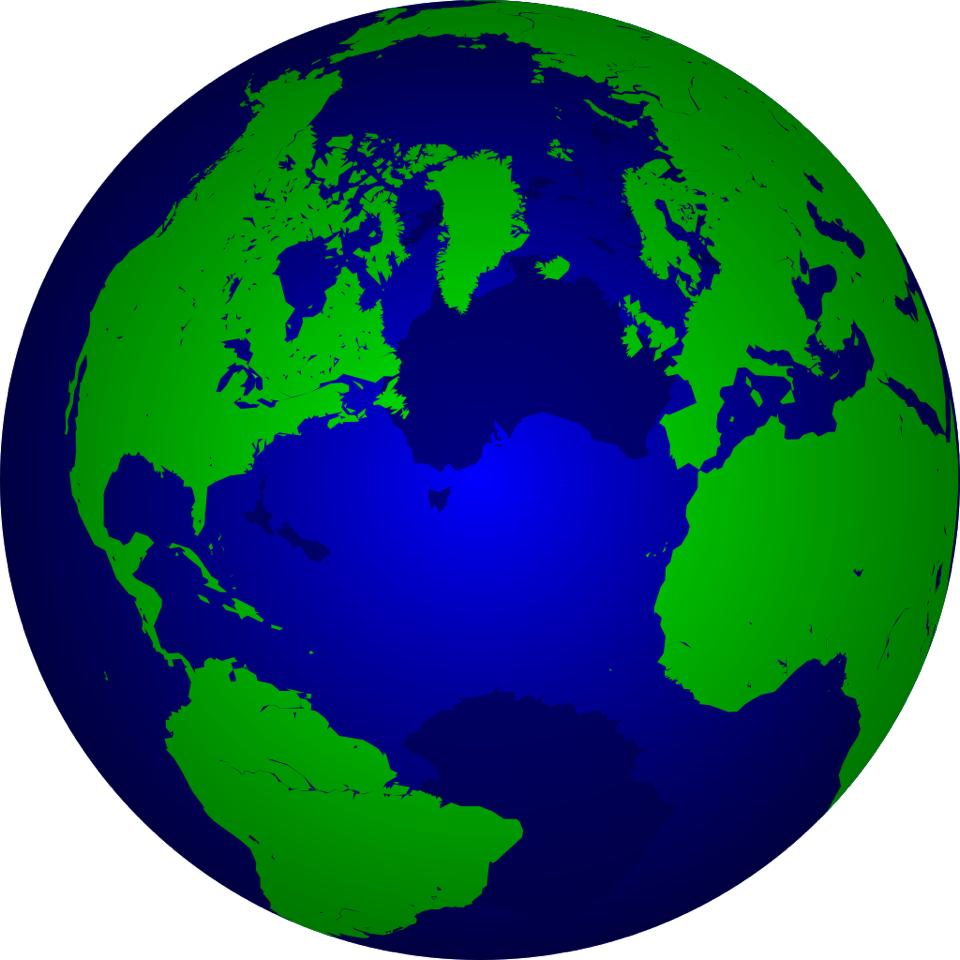 photo globe terreste