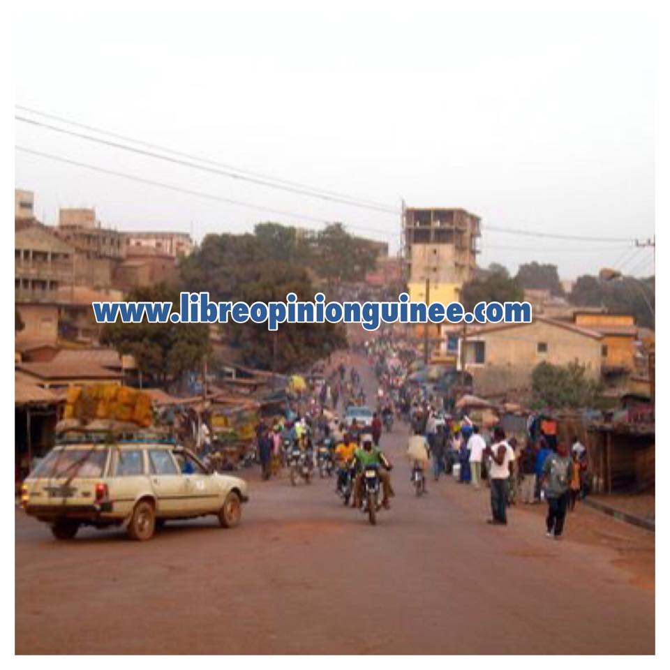 photo ville pita guinée