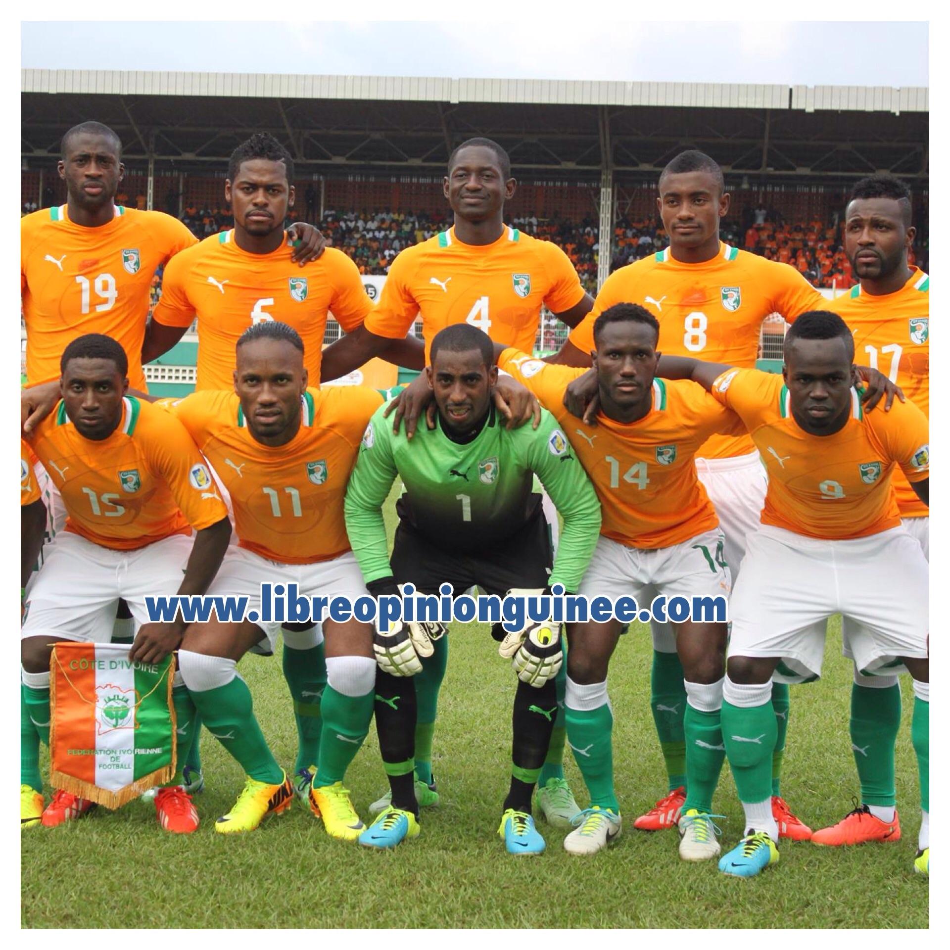 Photo équipe ivoirien