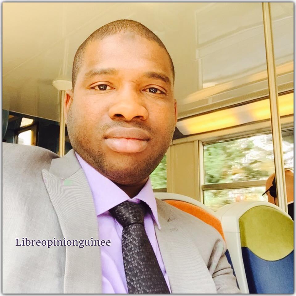 photo Macka baldé vice président des NFD