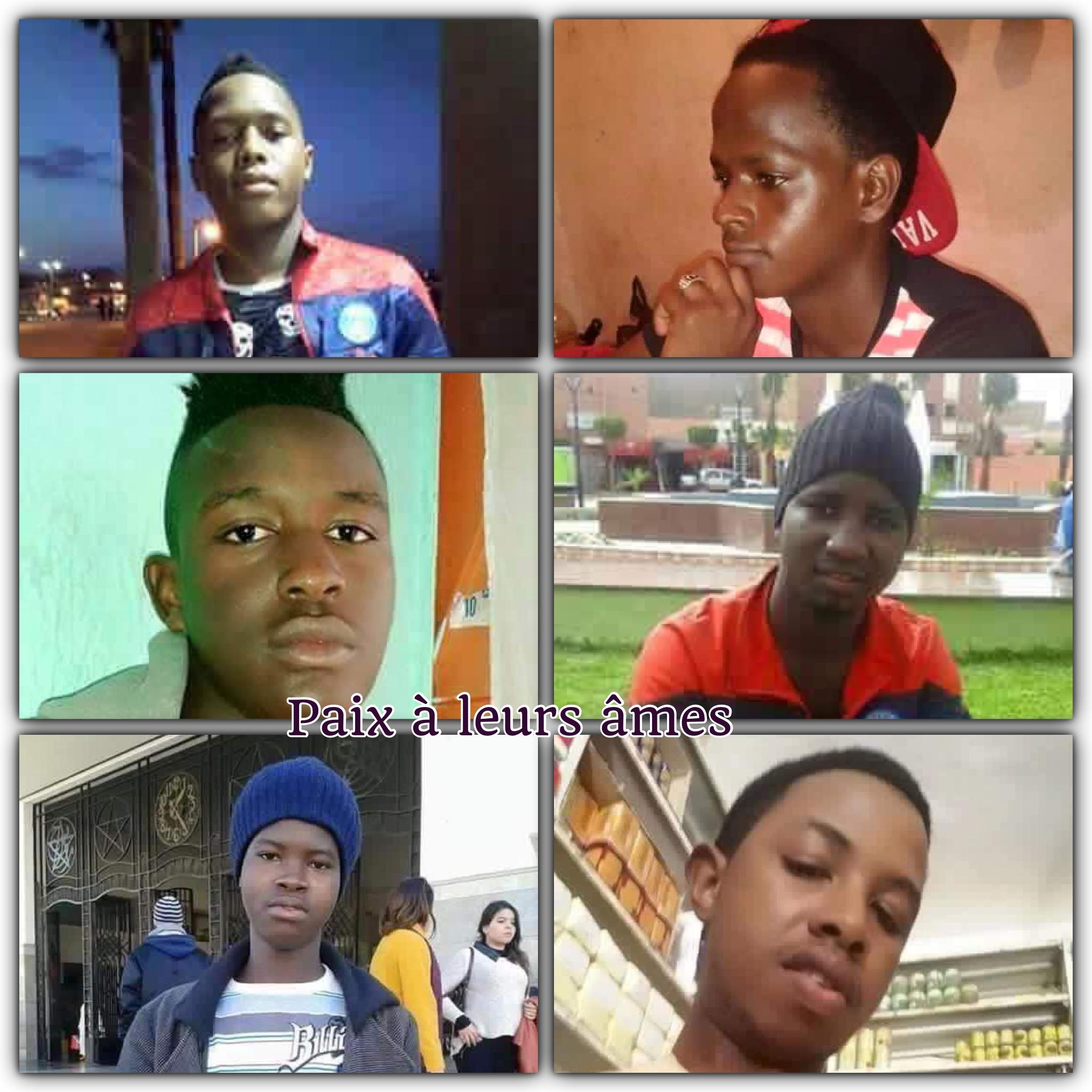 Guinéens mort par noyade au Maroc