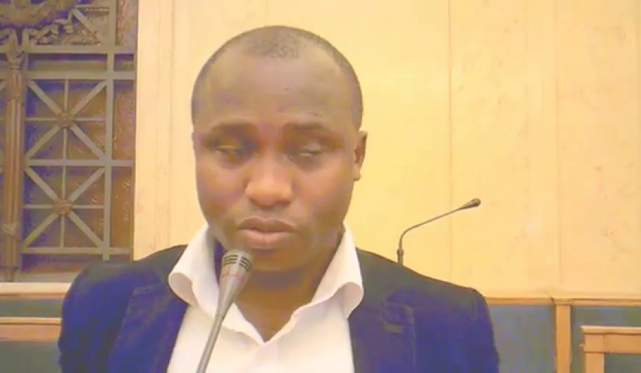 Libre Opinion Guinée TV, colloque à L'Assemblée nationale française sur le défis démocratiques en Guinée. Macka Balde et Djibril Camara Espace tv