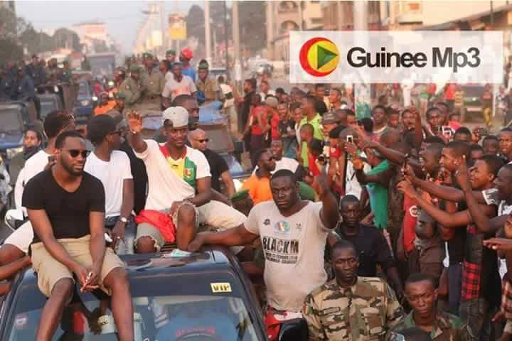 Black m à conakry