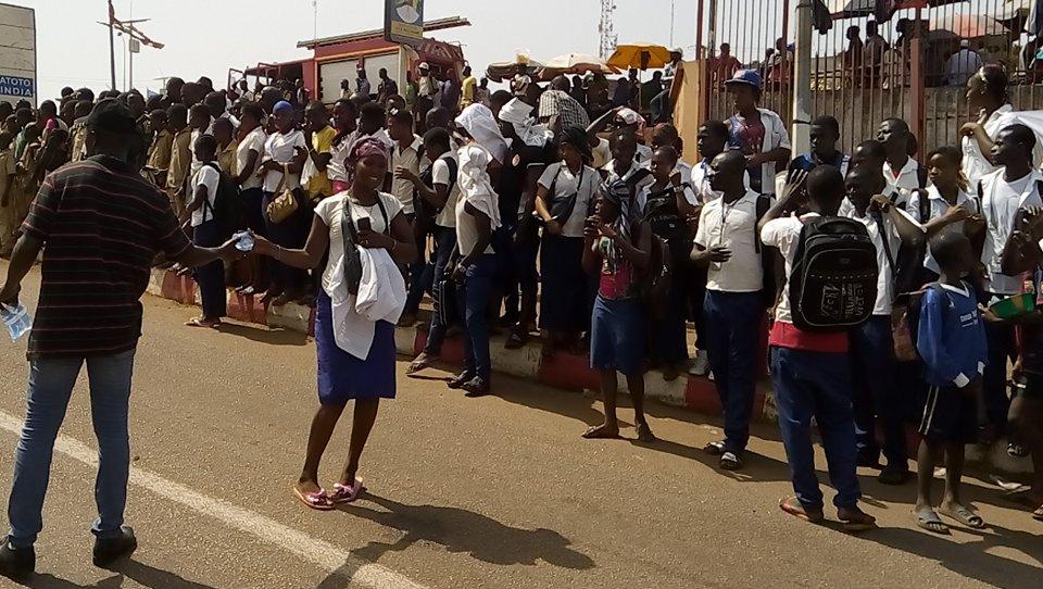 Arrivée de Paul Kagamé a conakry