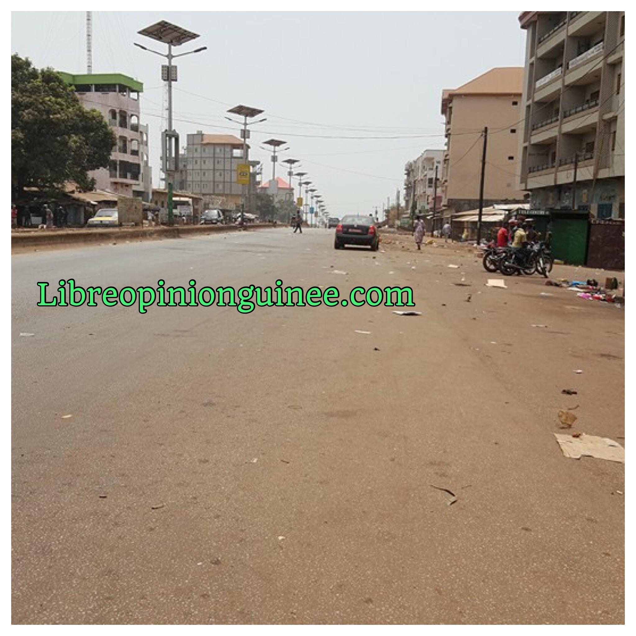journée ville morte Guinée
