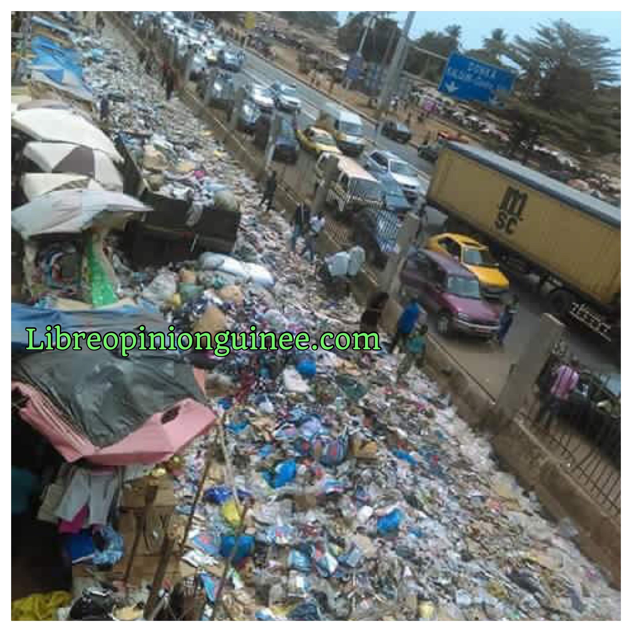 Conakry ville sale ordures