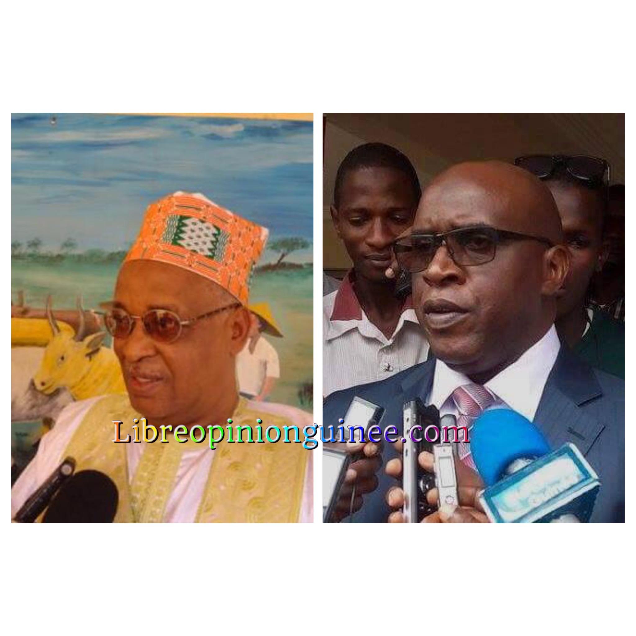 Fode Oussou Fofana UFDG et Thierno Ousmane Diallo UPR
