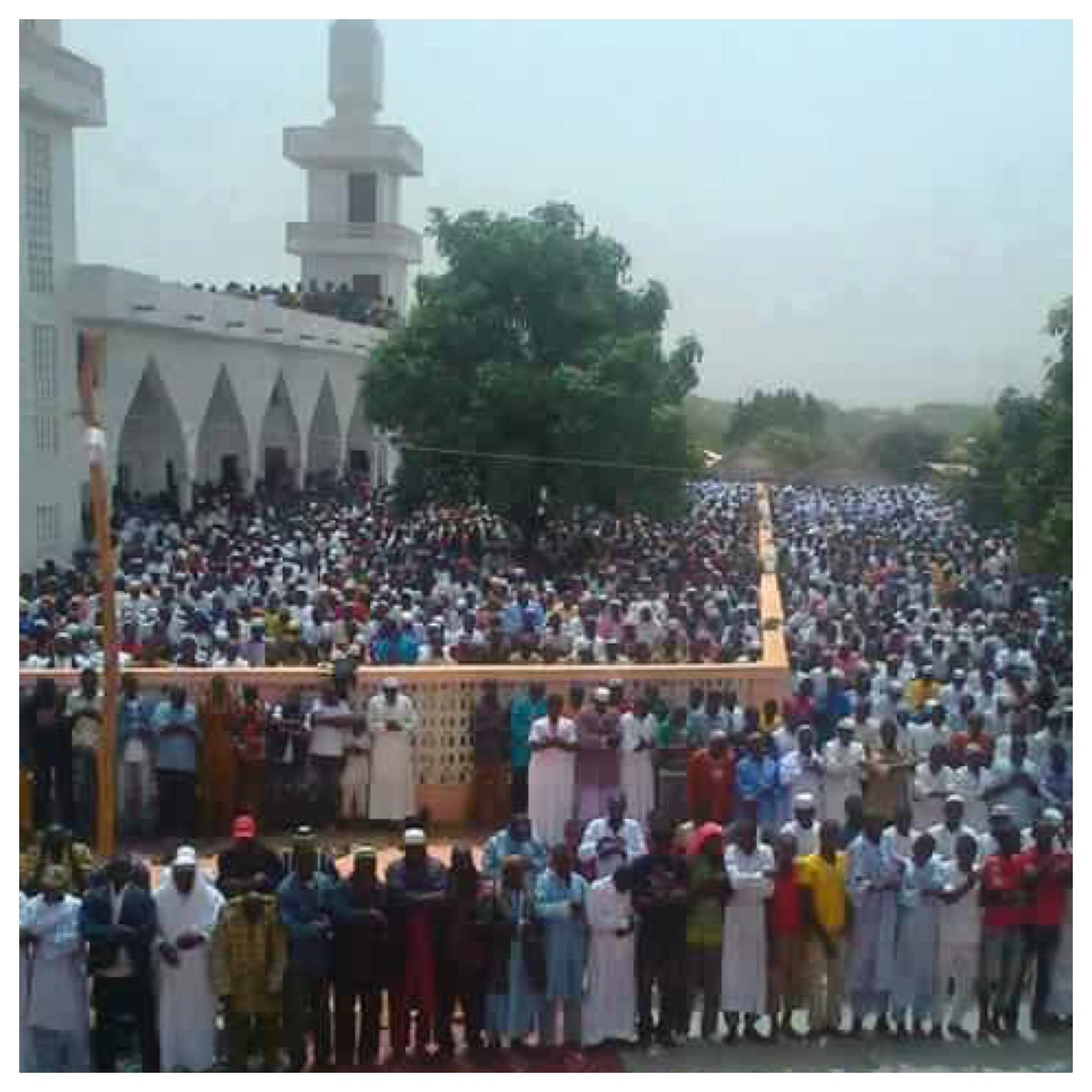 Inauguration de la mosquée de Fatako