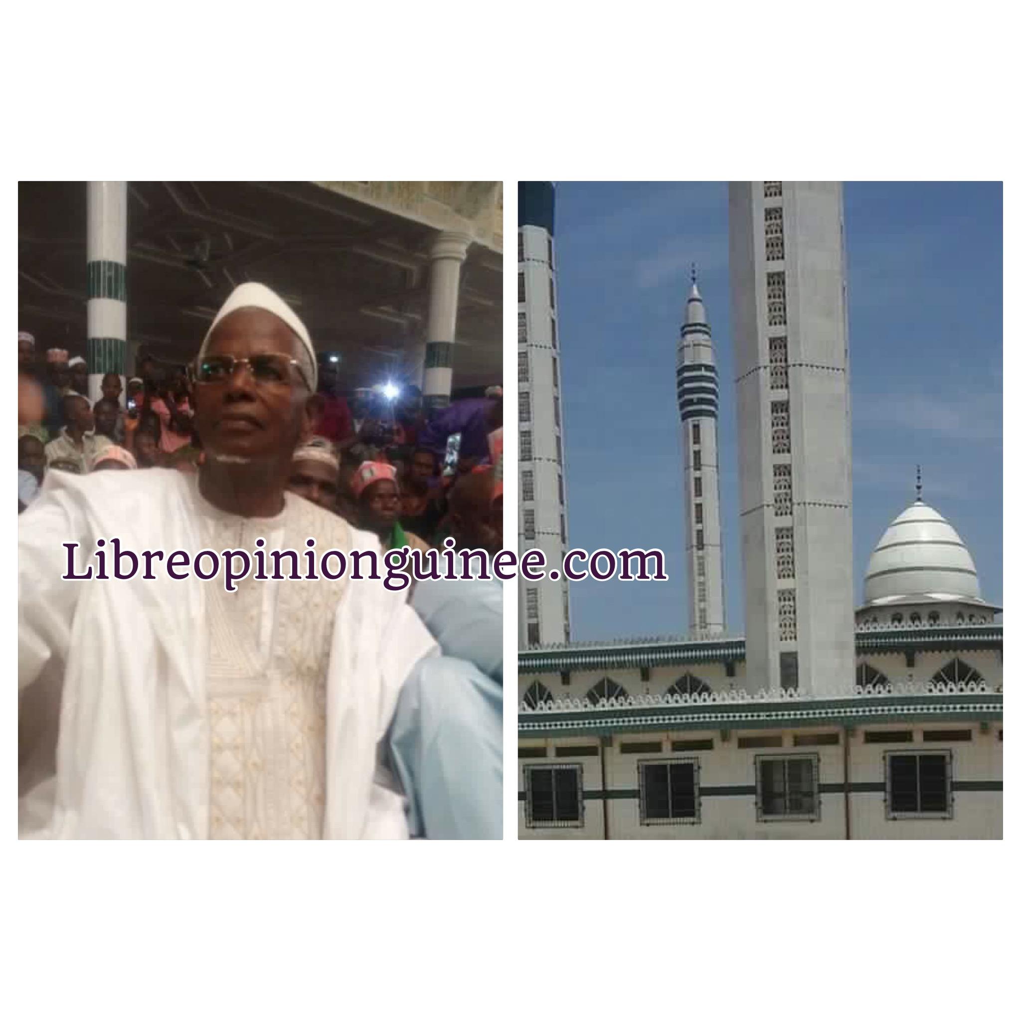 Elhadj Ousmane Balde San loi Fatako mosquée