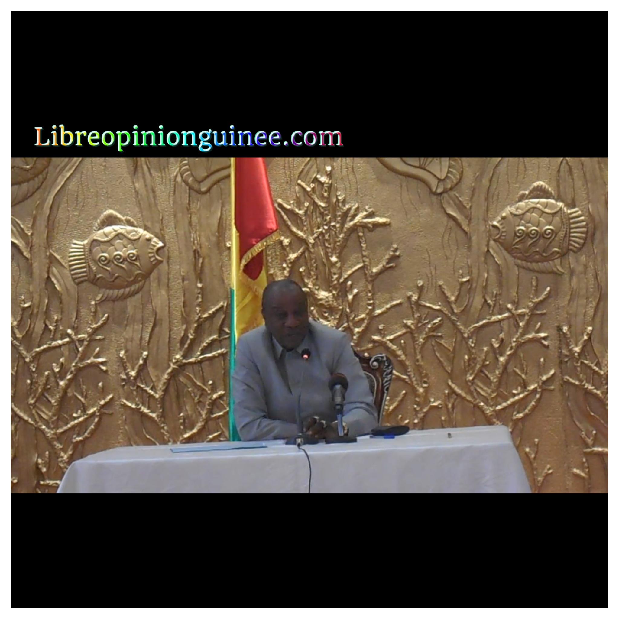 Alpha Conde President Guineen
