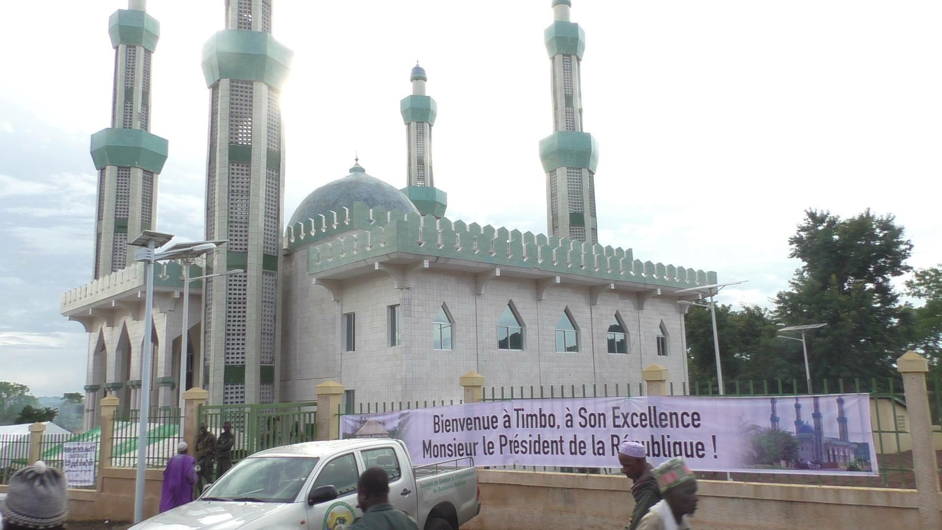 Mosquée de Timbo Mamou guinee