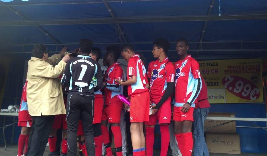 Libreopinionguinee.com, Remise du trophée CS bretigny finale du tournoi international U13 à Epinay sur orge